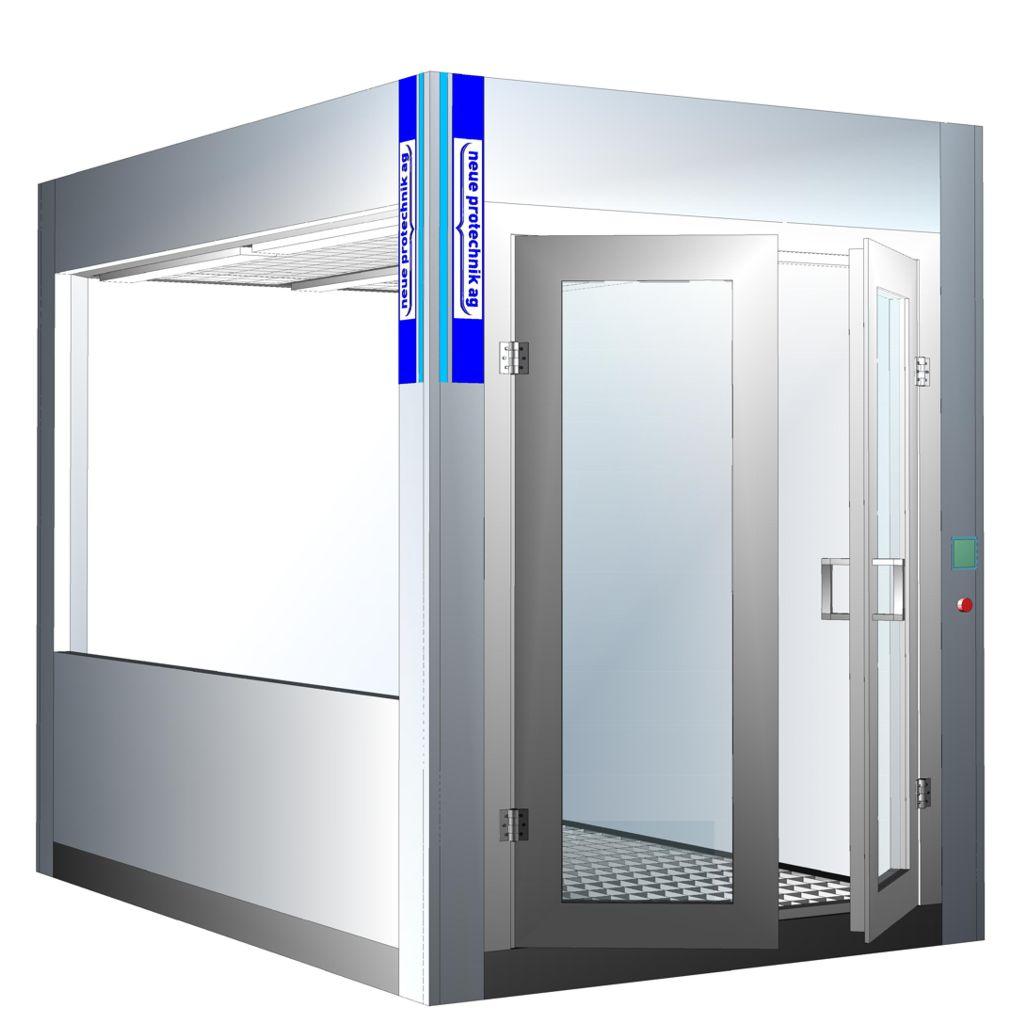 lackierbox eurosys 2300 von h chste qualit t minimalste kosten spritzraumeinrichtung. Black Bedroom Furniture Sets. Home Design Ideas