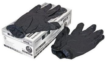 handschuhe nitril onyx plus von schwarz box 100 st ck zubeh r f r den lackierer arbeitsschutz. Black Bedroom Furniture Sets. Home Design Ideas